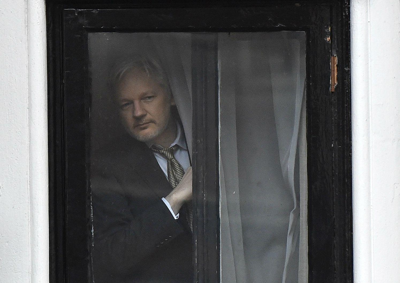 Assange embassy wikileaks united nations Sweden police arrest UK US