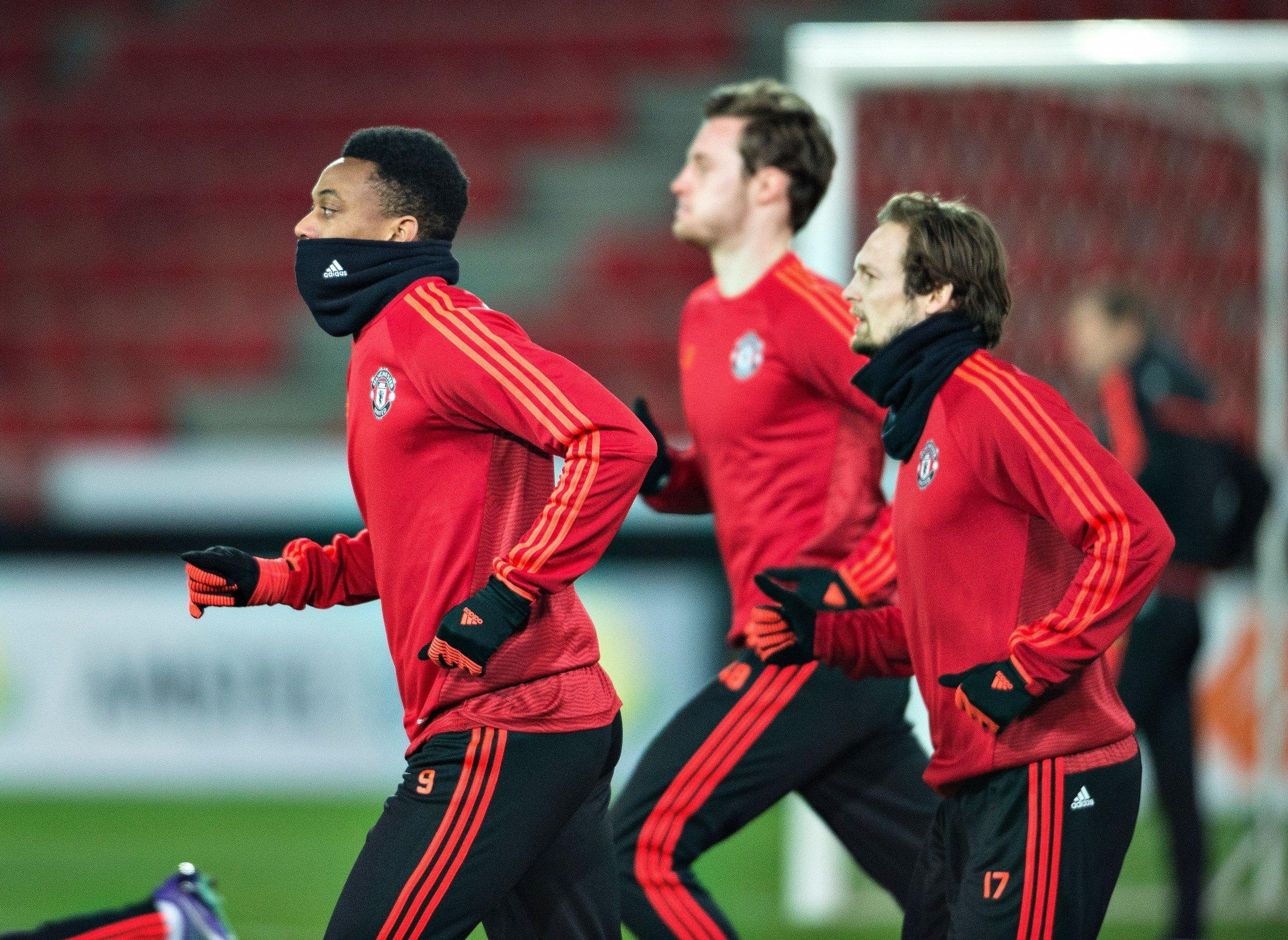 Manchester United plays FC Midtjylland on Thursday night in Herning, Denmark.