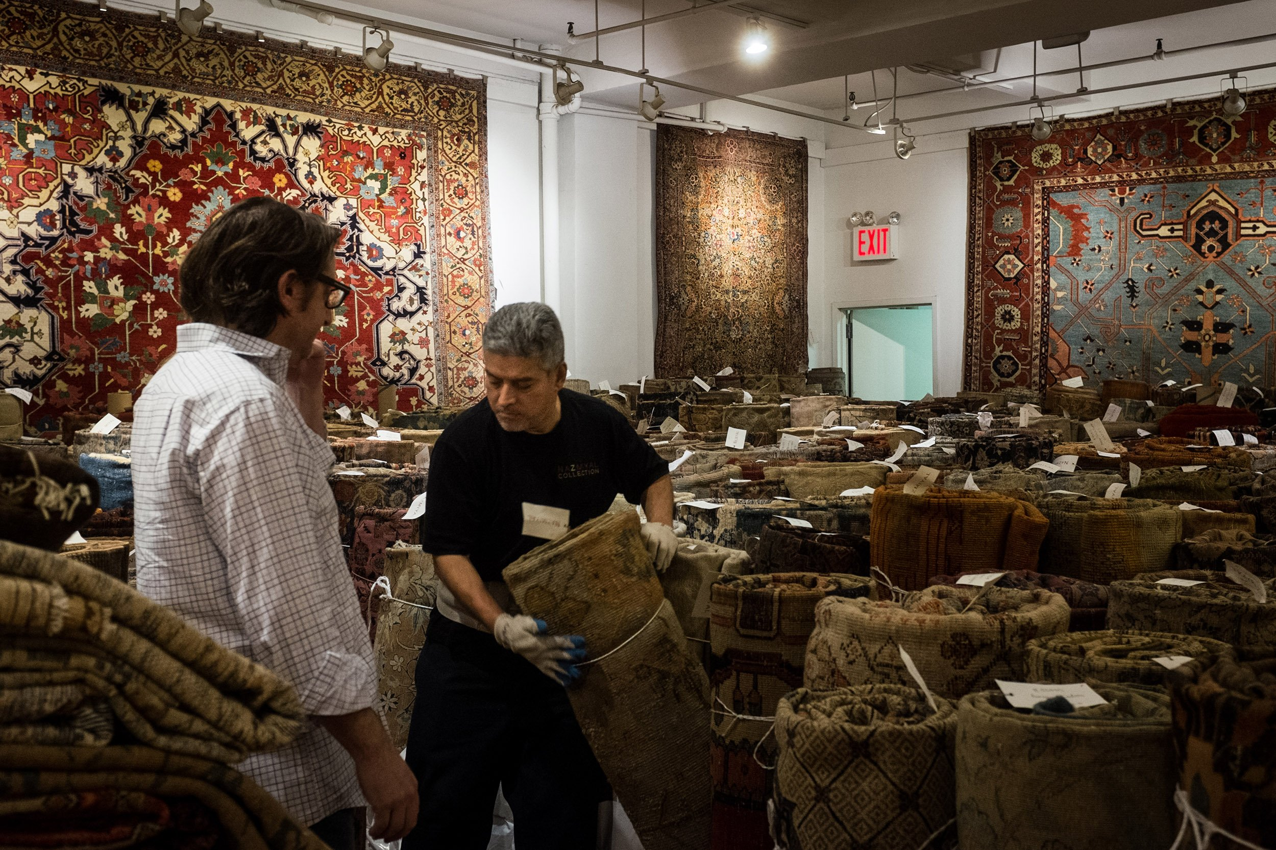 The Persian Rug Trade Is Back in Business