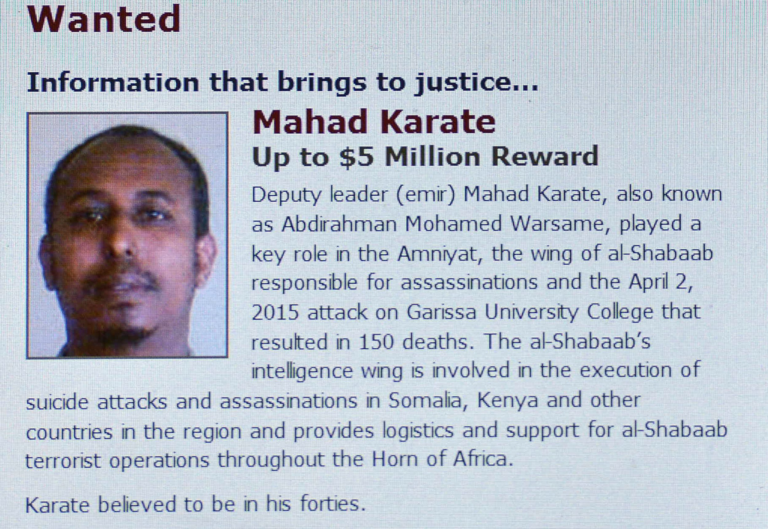 Mahad Mohammed Karatey screenshot.