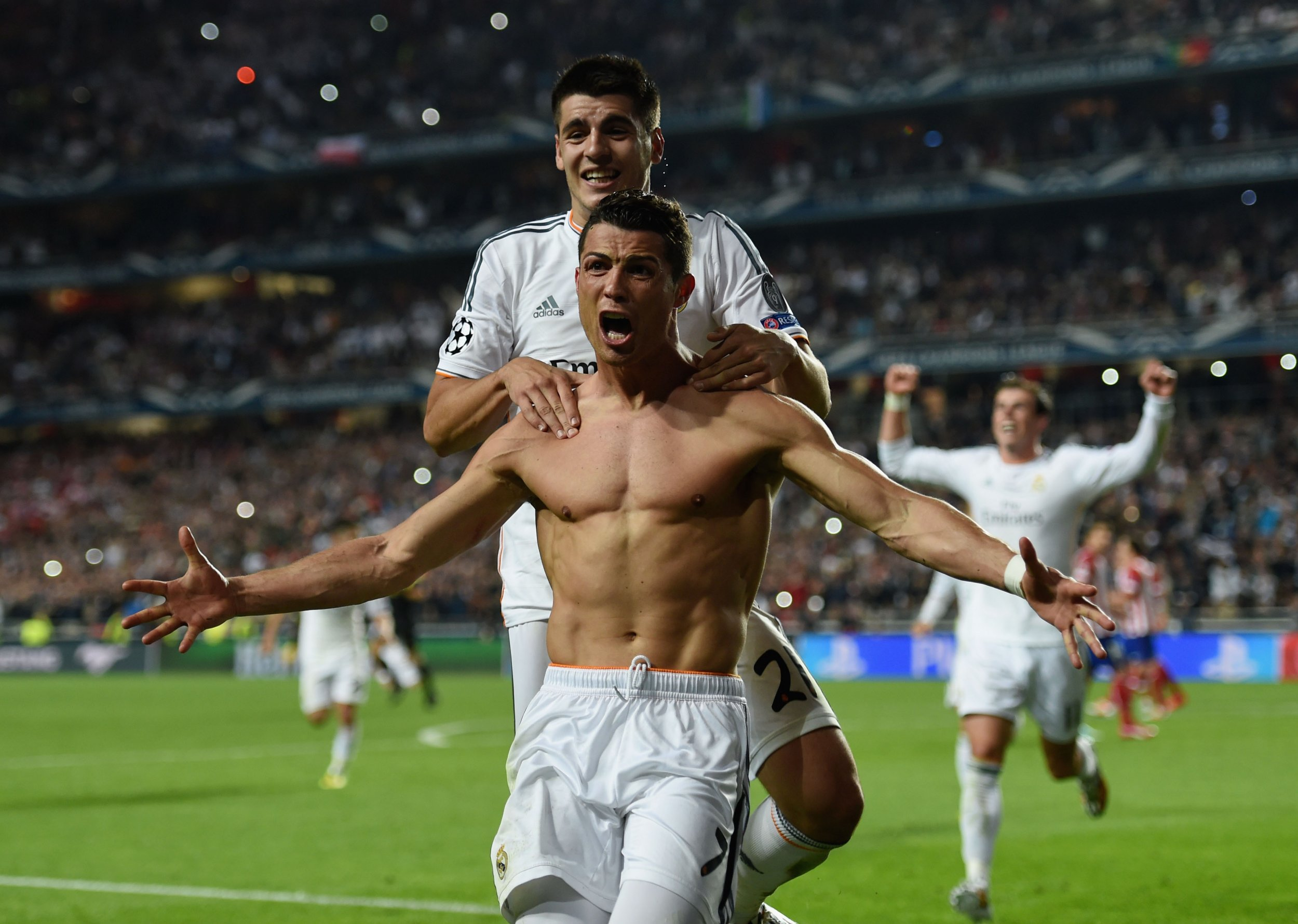 Cristiano Ronaldo's body is idolized by a generation of young men.