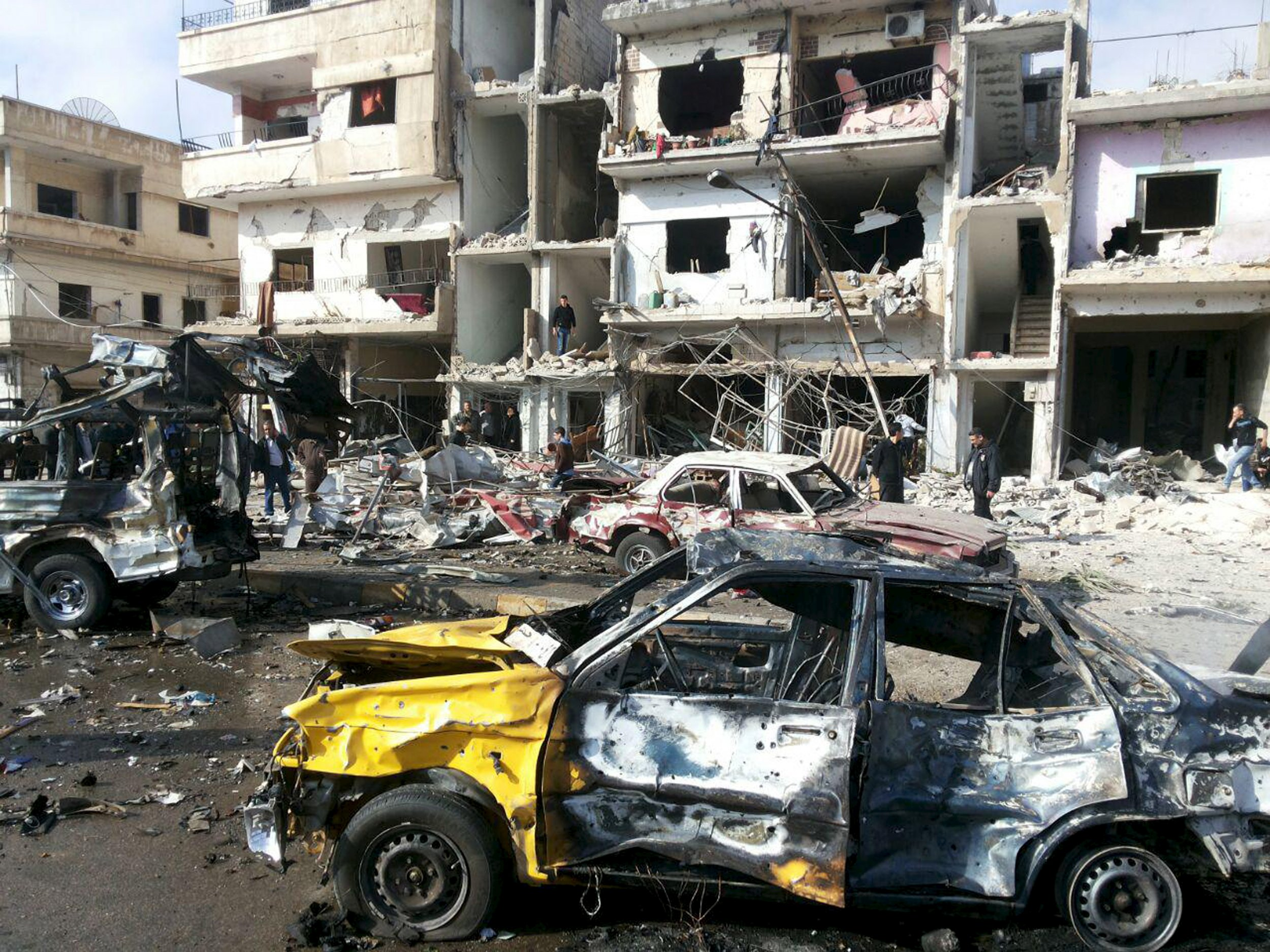 Syria bombings