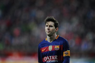 Lionel Messi has over 400 goals for Barcelona.