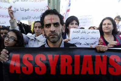 Assyrian Kidnap Hostage Syria Middle East