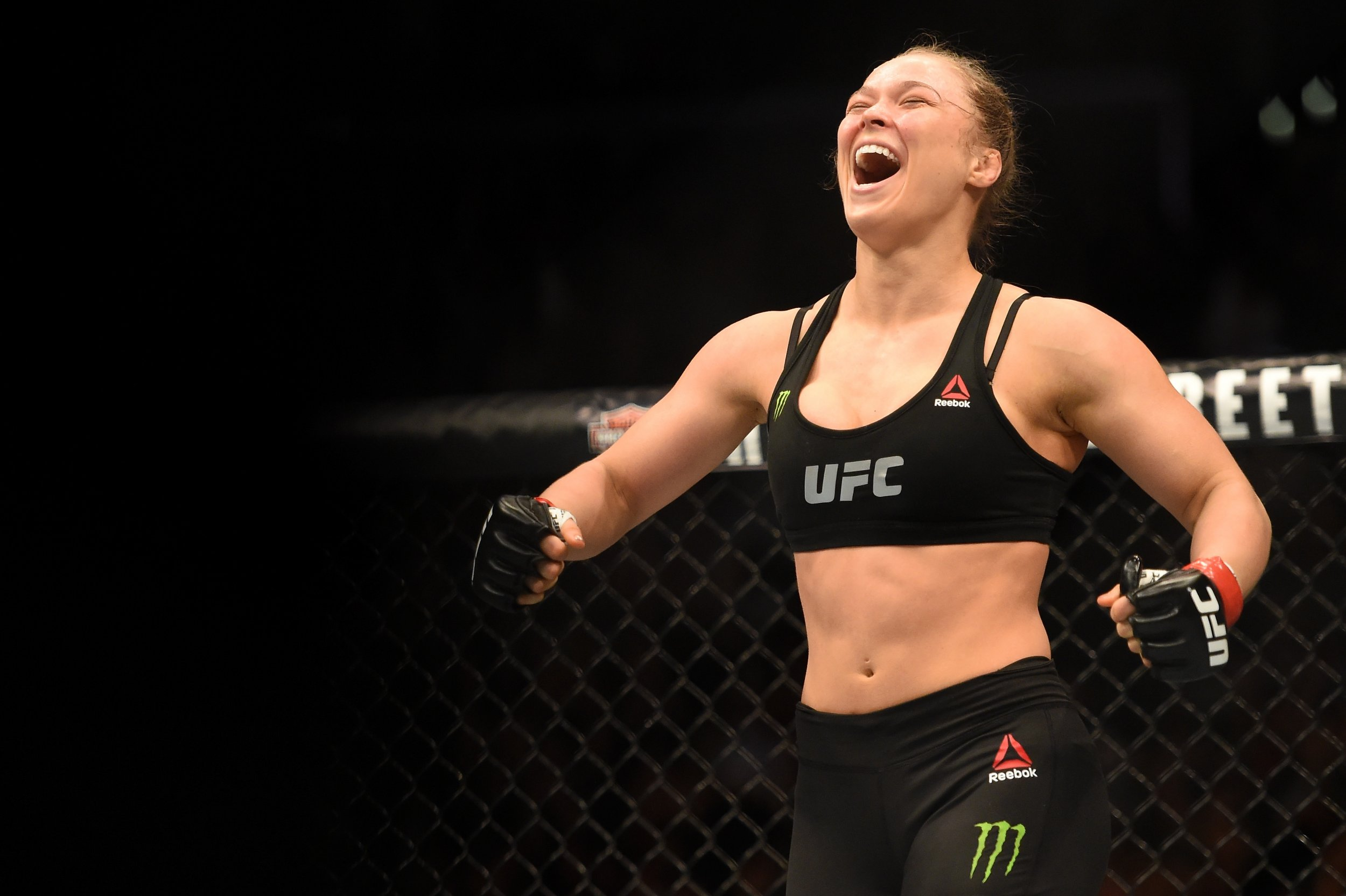 Ronda Rousey has not fought in UFC since her knockout by Holly Holm in November.