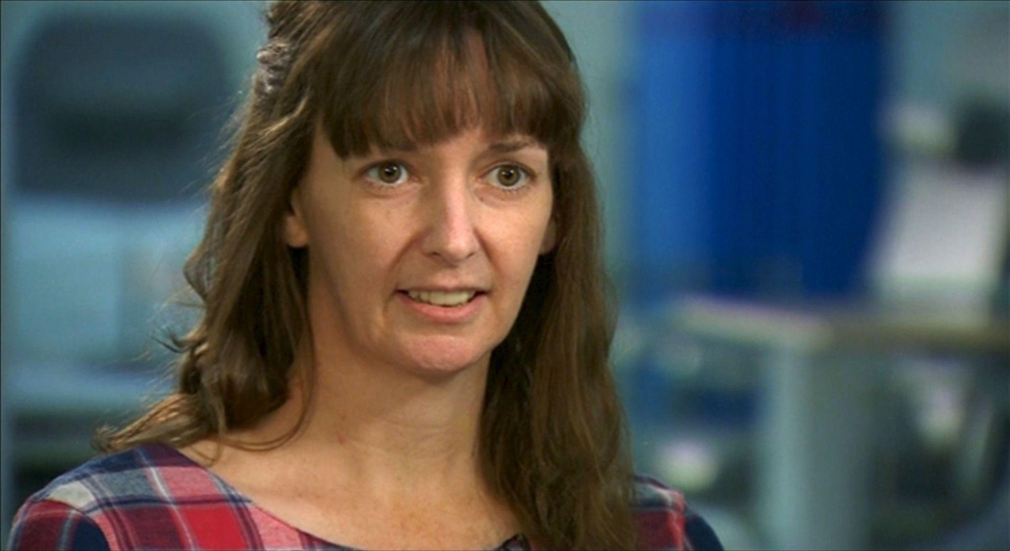 Scottish nurse Pauline Cafferkey, who contracted Ebola, speaks in an interview.