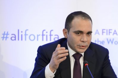 Prince Ali wants transparent voting booths at the FIFA election on Friday.