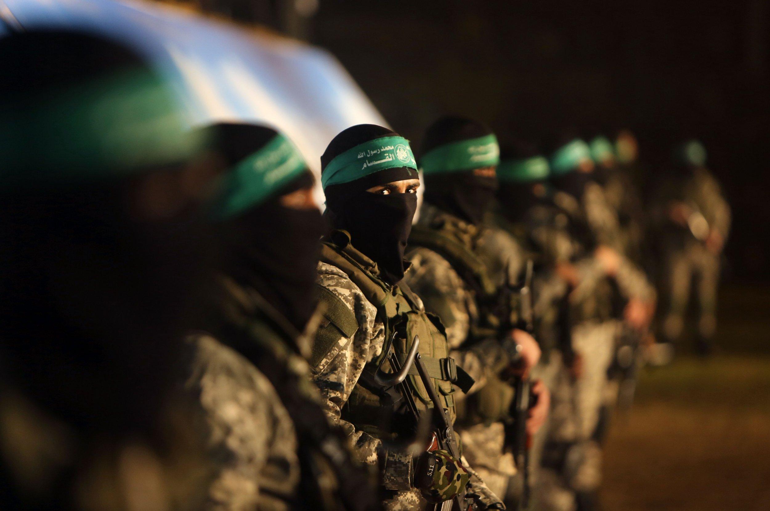 Hamas Gaza Middle East Qassam