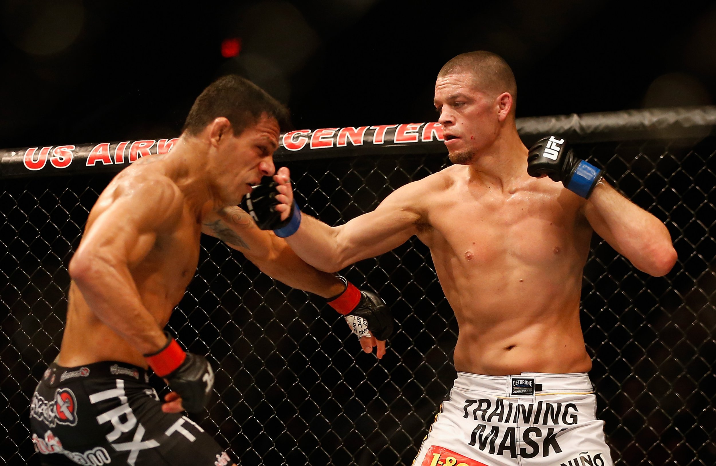 Nate Diaz, right, has stepped in to face Conor McGregor at UFC 196 in March.