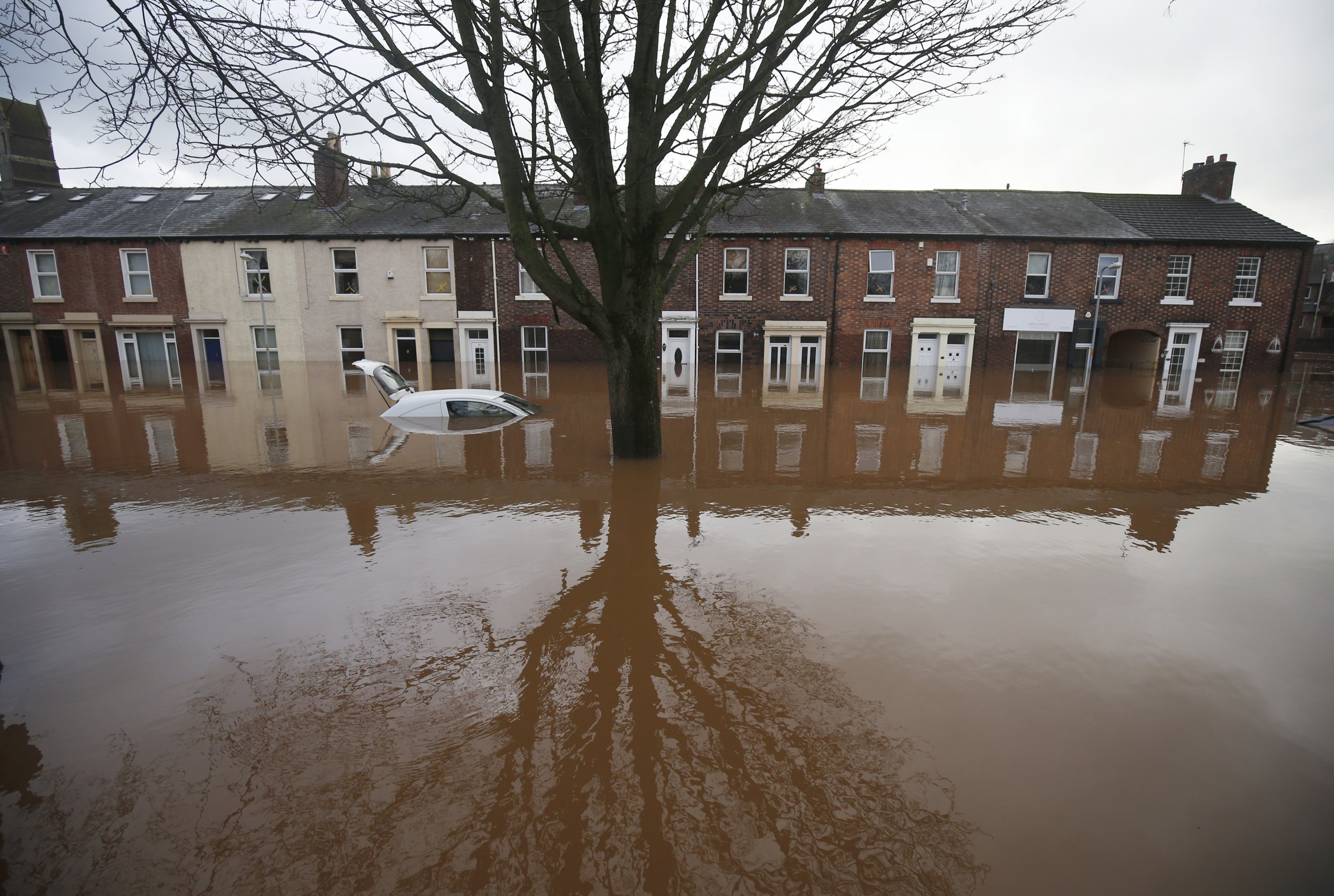Carlisle flood waters