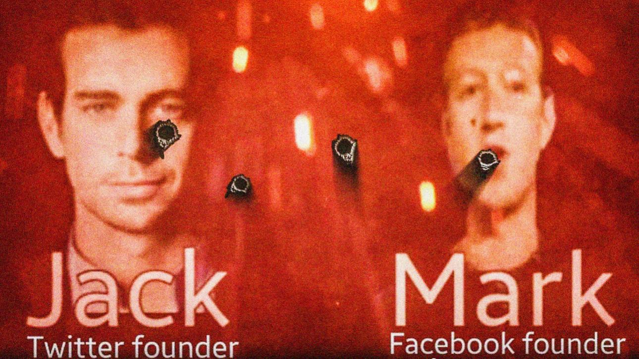 ISIS Dorsey Zuckerberg