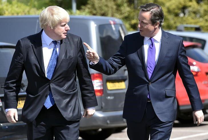 Boris Johnson David Cameron Brexit