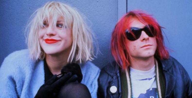 Courtney and Kurt