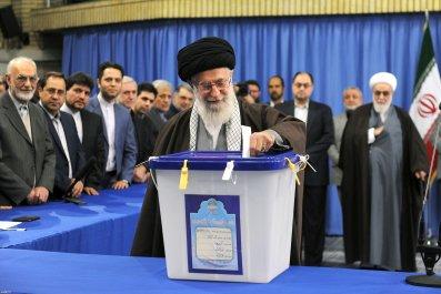 Iran Elections Khamenei Supreme Leader Rouhani
