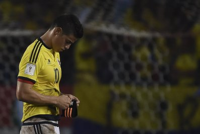James Rodriguez has fallen out of favor at Real Madrid.