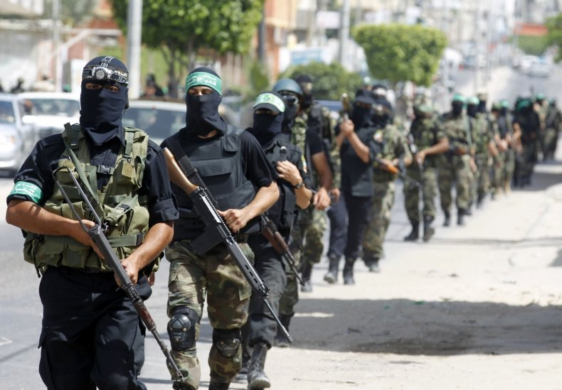 Hamas Qassam Israel Gaza Strip Middle East
