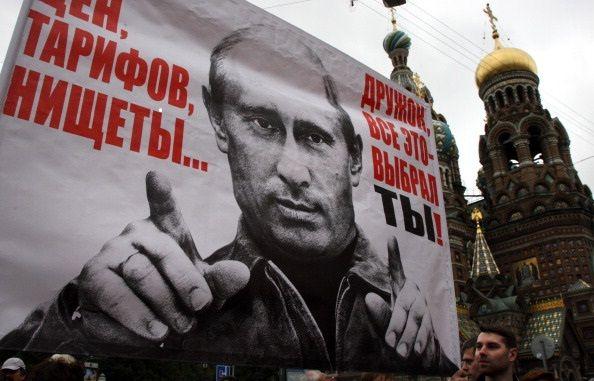 Anti Putin Protest Russia