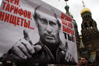 Anti Putin Protest Russia