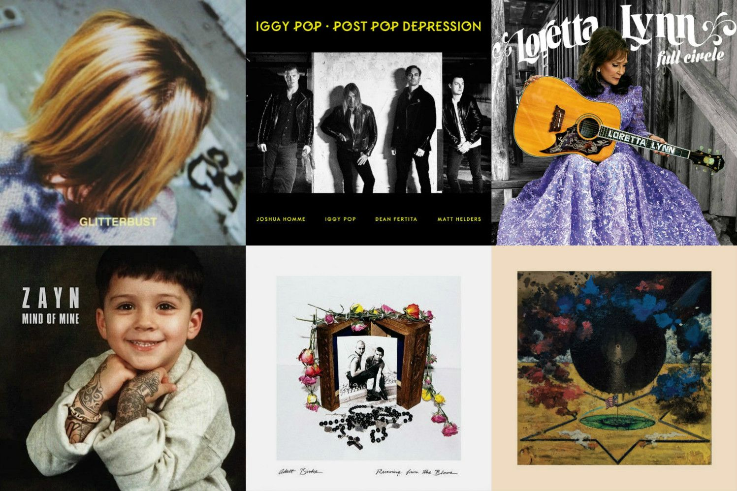 March Albums