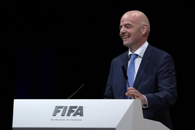 Gianni Infantino is the new FIFA President.