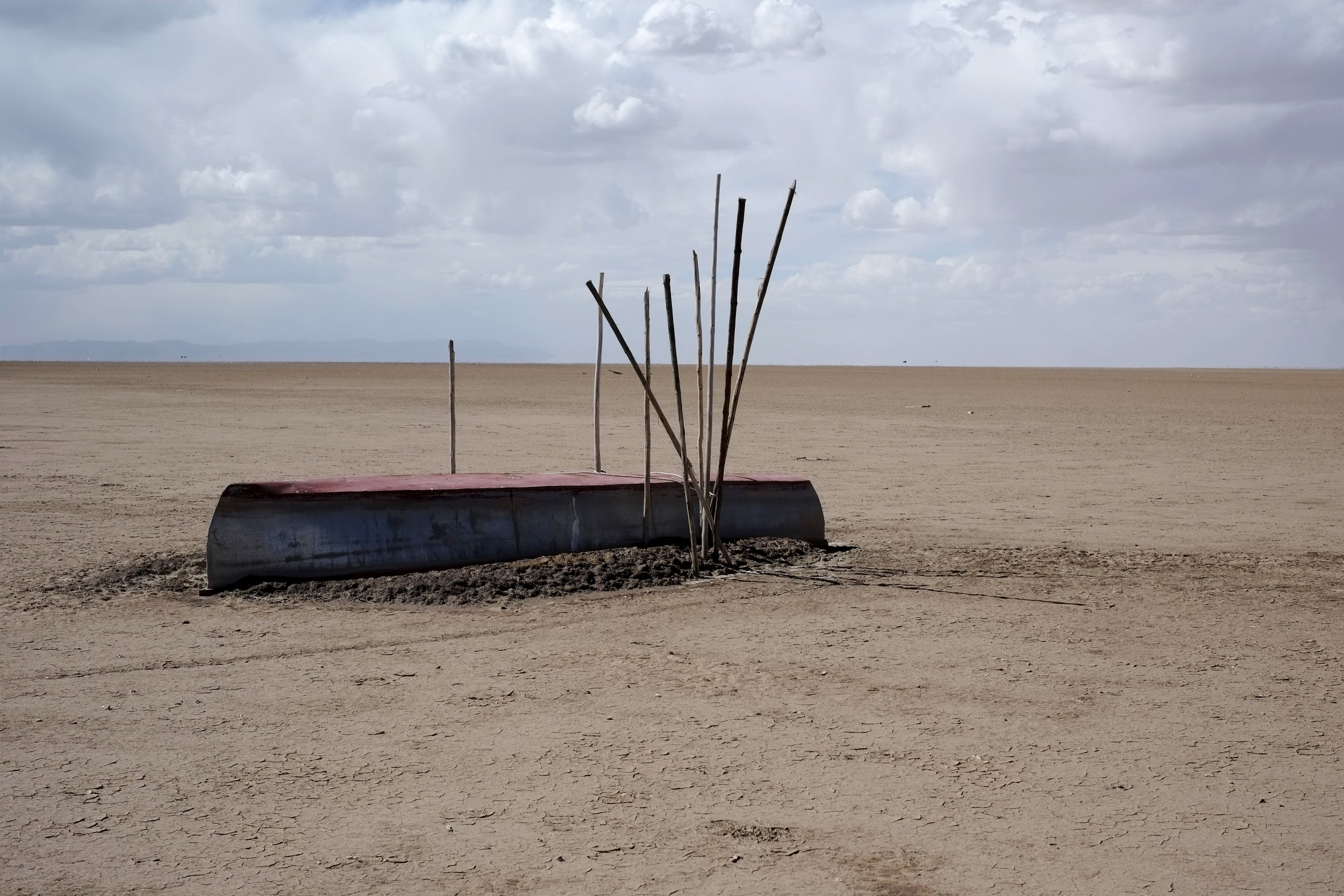 Dried up fishing industry