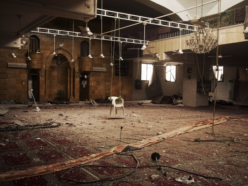 Mosque in Aleppo