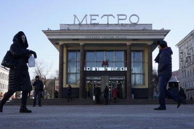 Russia Islam Moscow Metro