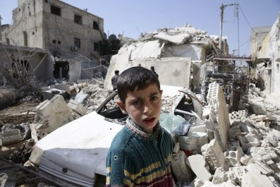 Syria Besieged Middle East Civil War