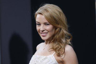 Kylie Minogue at Hercules premiere