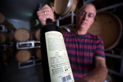 Israel West Bank Settlement Wineries