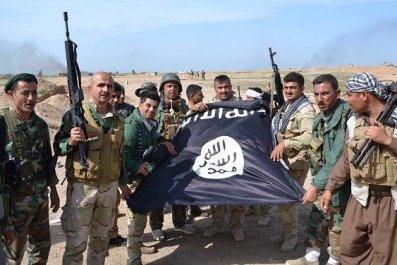 Kurdish Fighters Syria