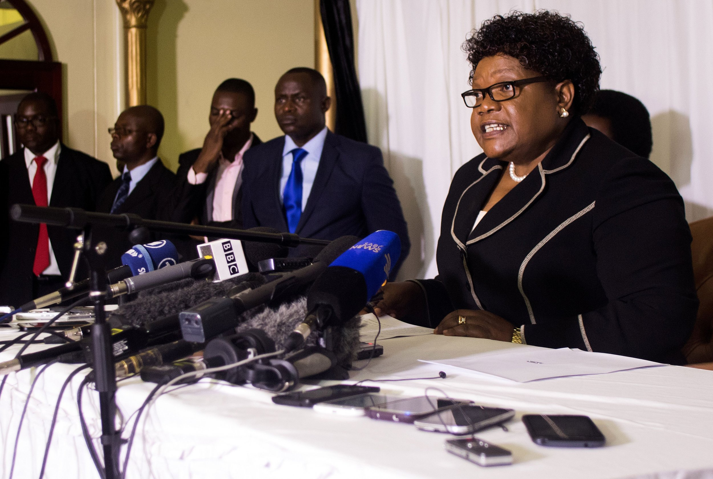 Joice Mujuru launches a new political party in Zimbabwe to challenge Robert Mugabe.