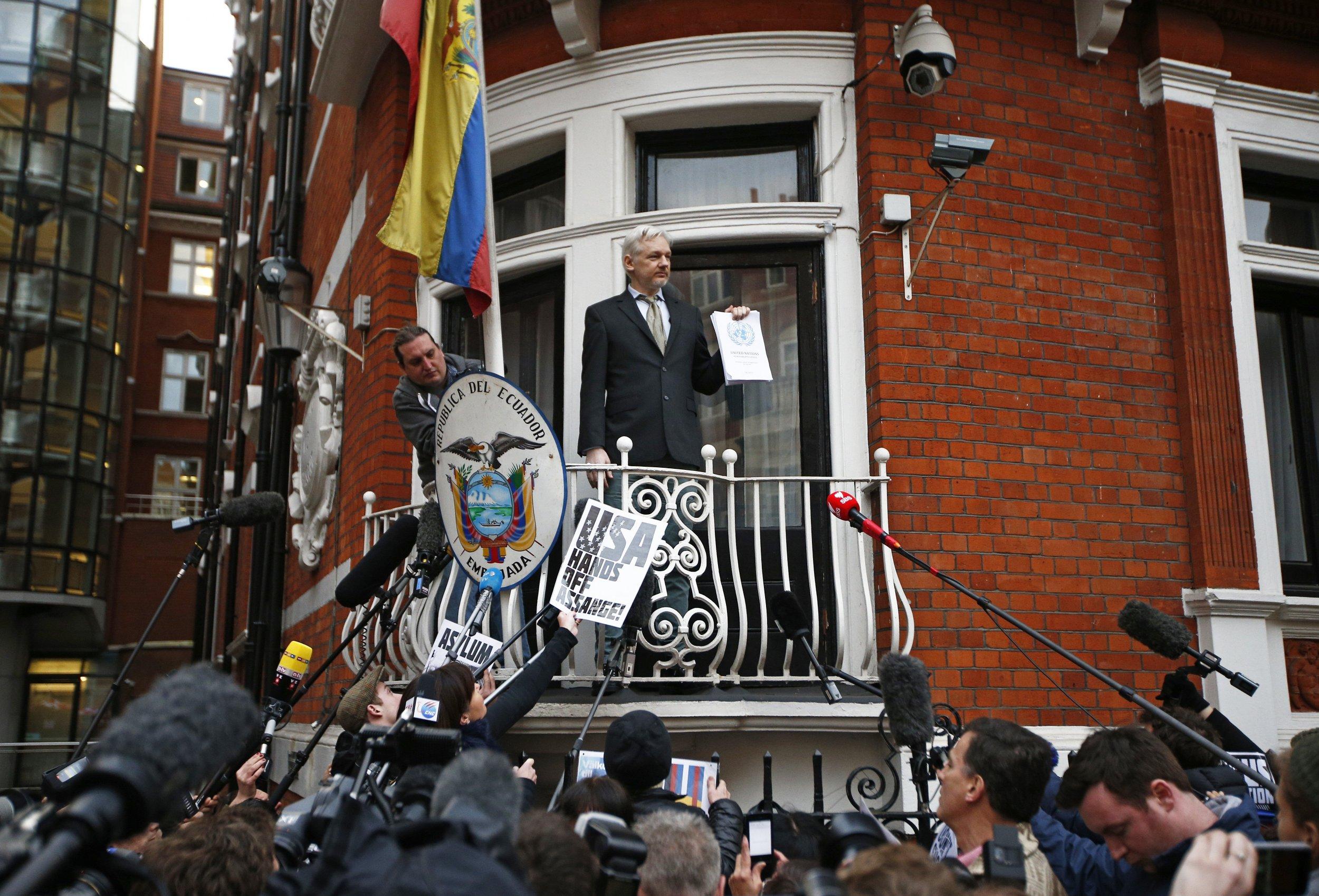 assange un ruling ai weiwei letter wikileaks nobel