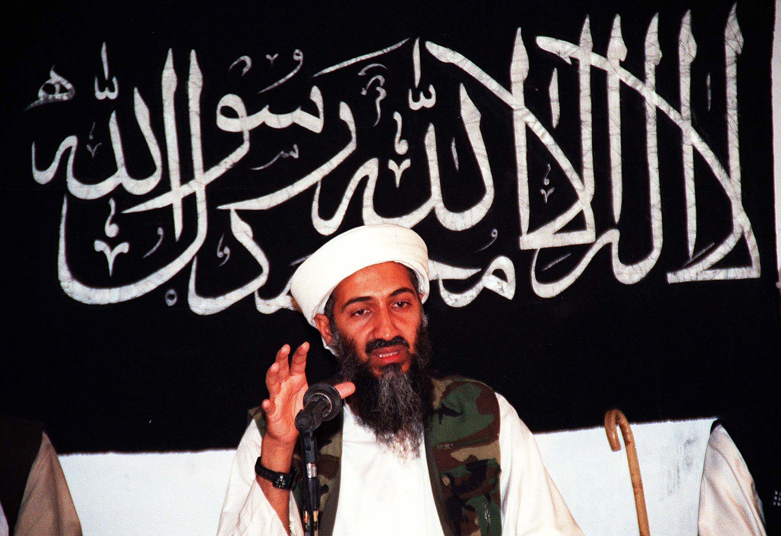 Osama Bin Laden Al-Qaeda ISIS Islamic State Middle East