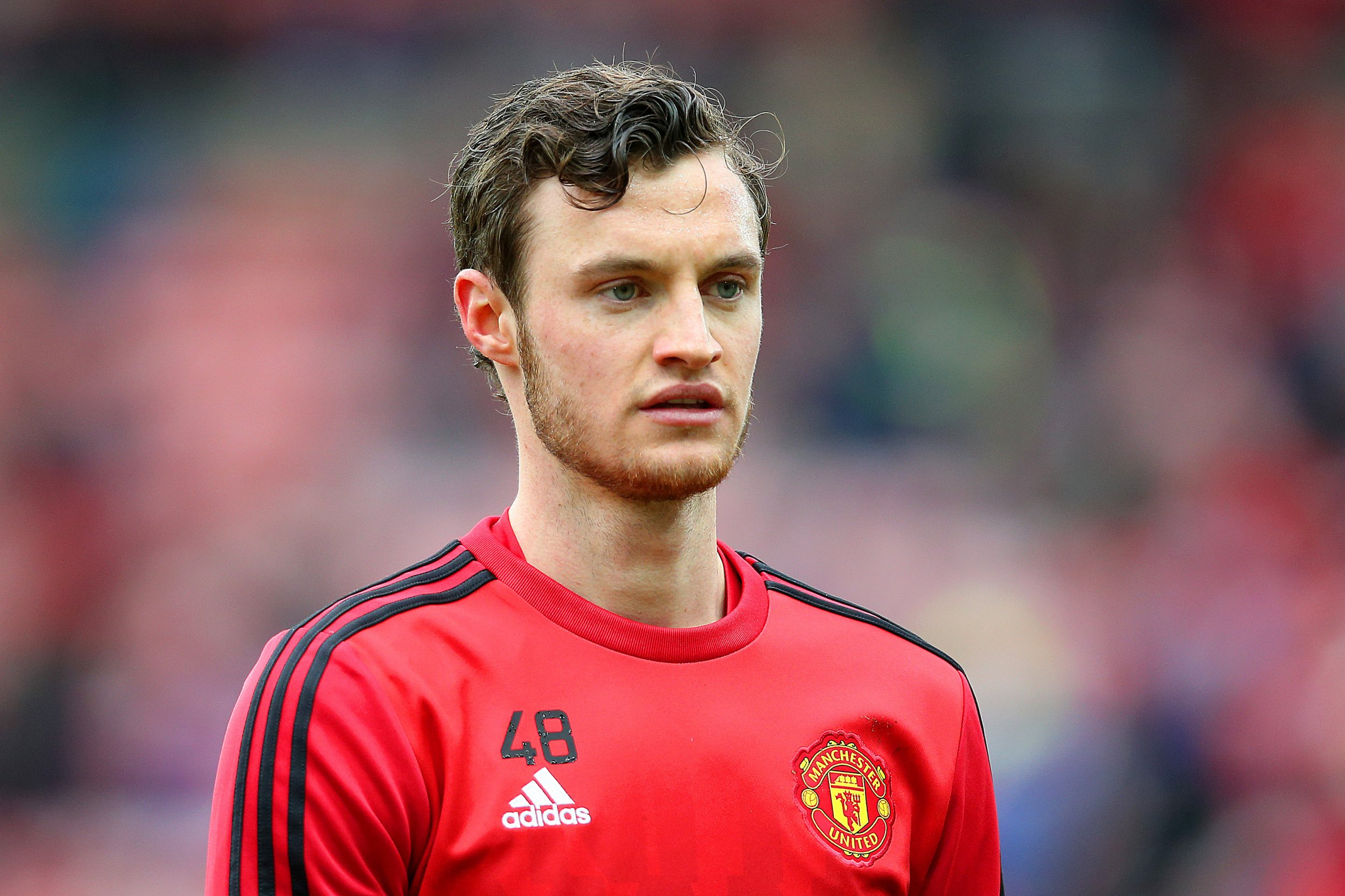 Manchester United striker Will Keane has suffered frequently with injuries.