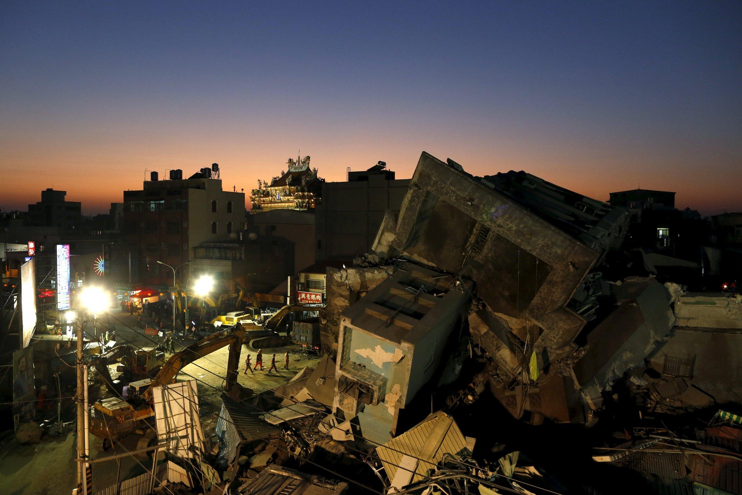 Earthquake Survivors and PTSD