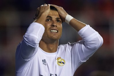 Cristiano Ronaldo is said to be unhappy at Real Madrid.