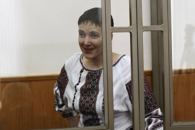Savchenko in Russian court