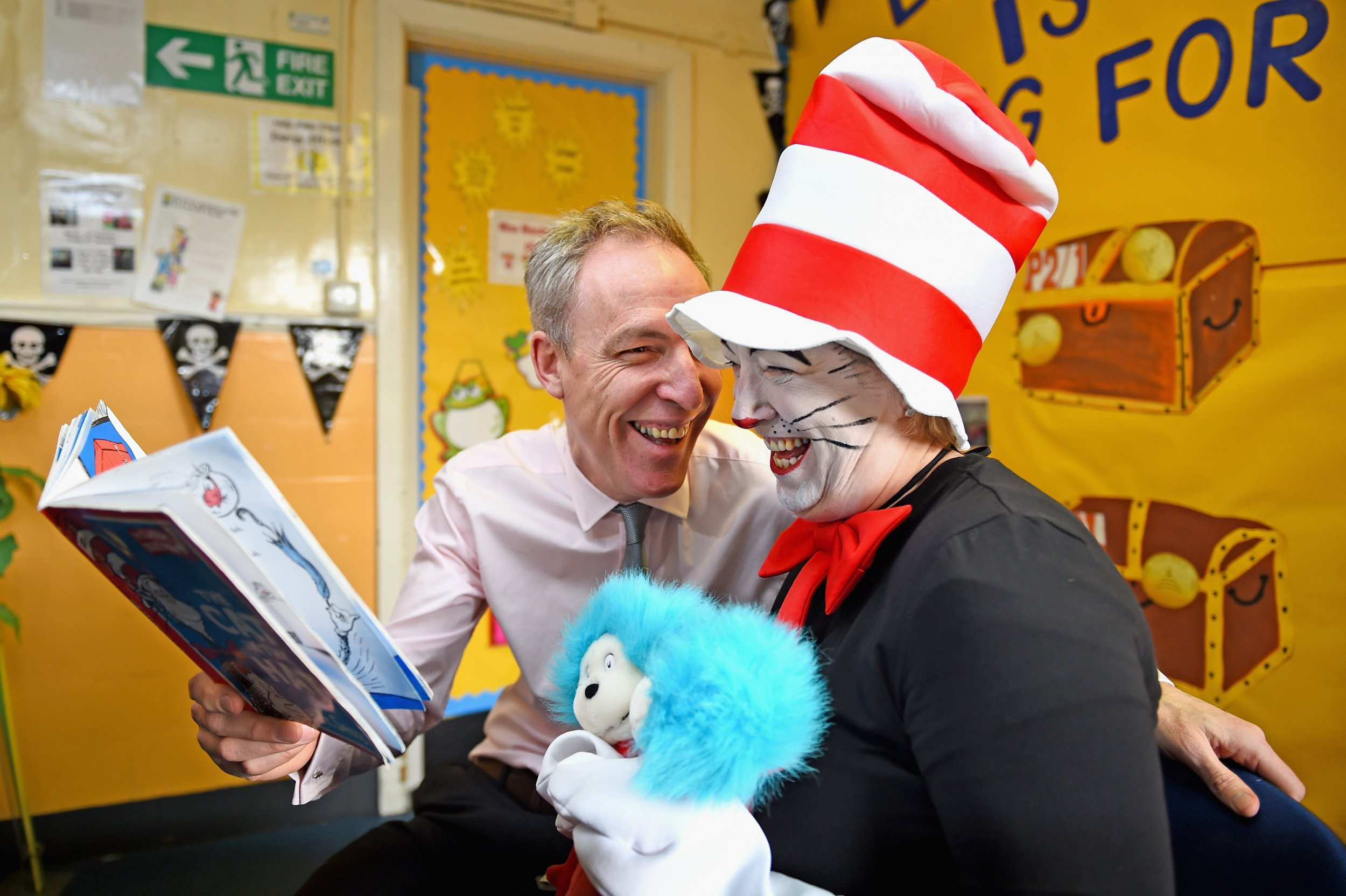 Labour leader Jim Murphy on World Book Day 2015
