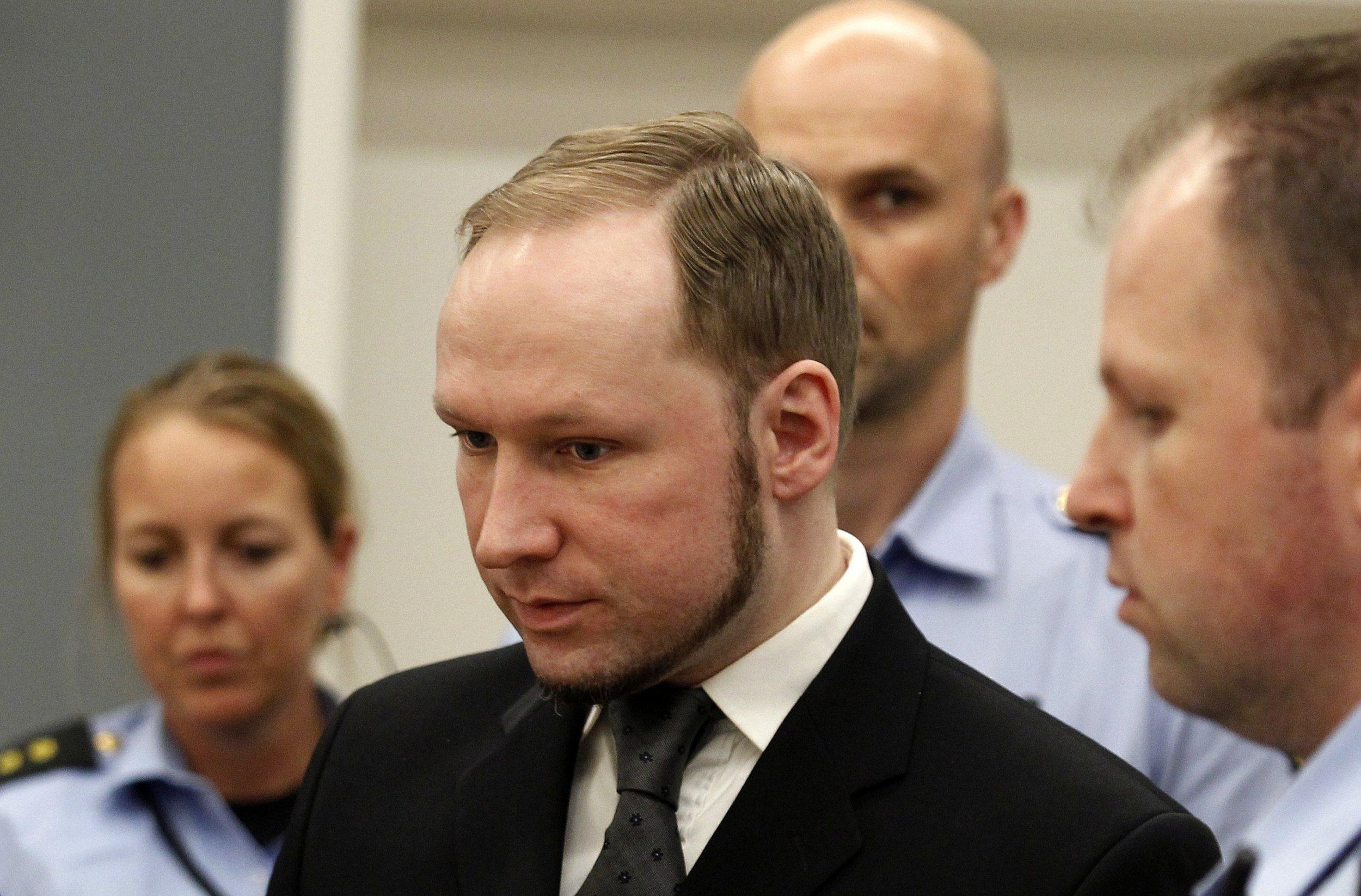 Breivik Photo: Anders Breivik: Prison Treatment Is 'Inhuman