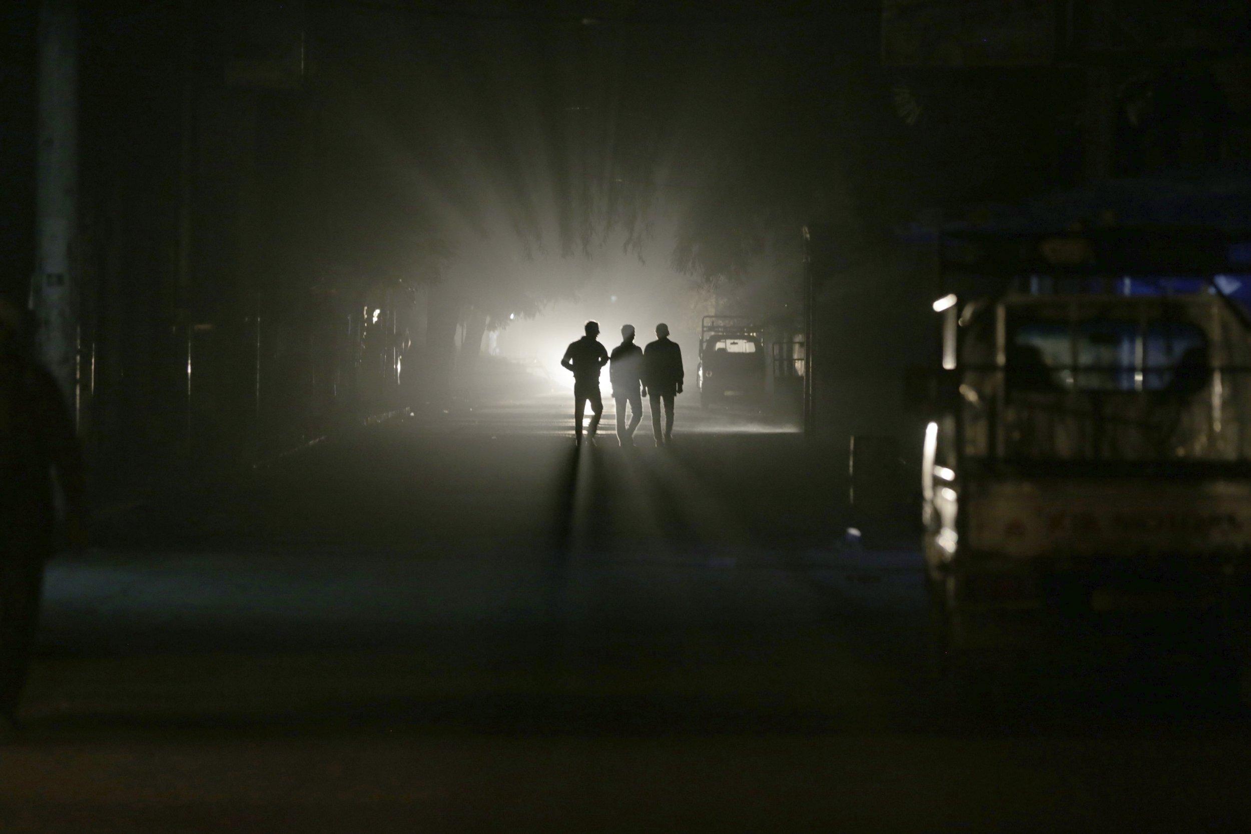 Syria Damascus Power Cut