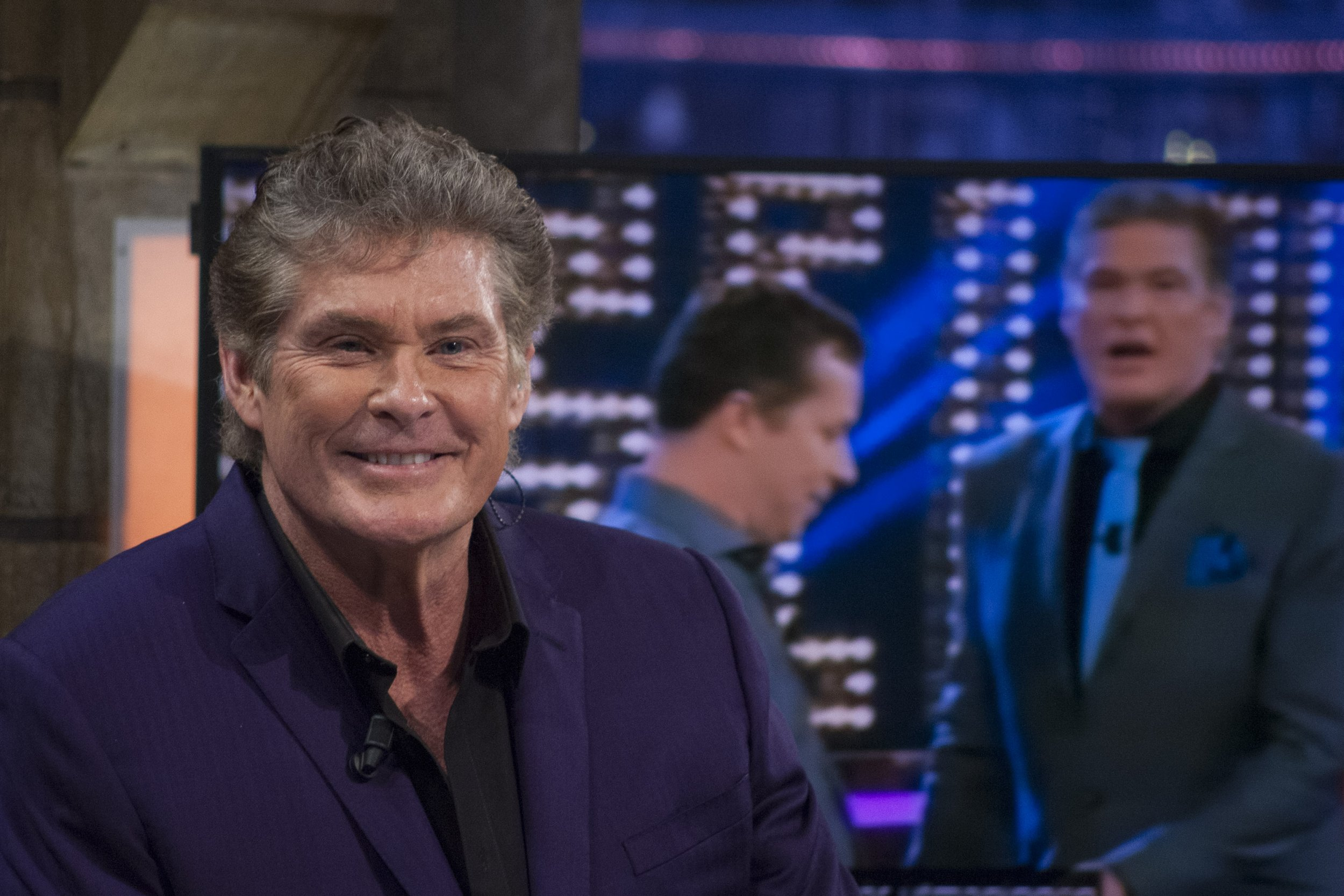 David Hasselhoff on El Hormiguero