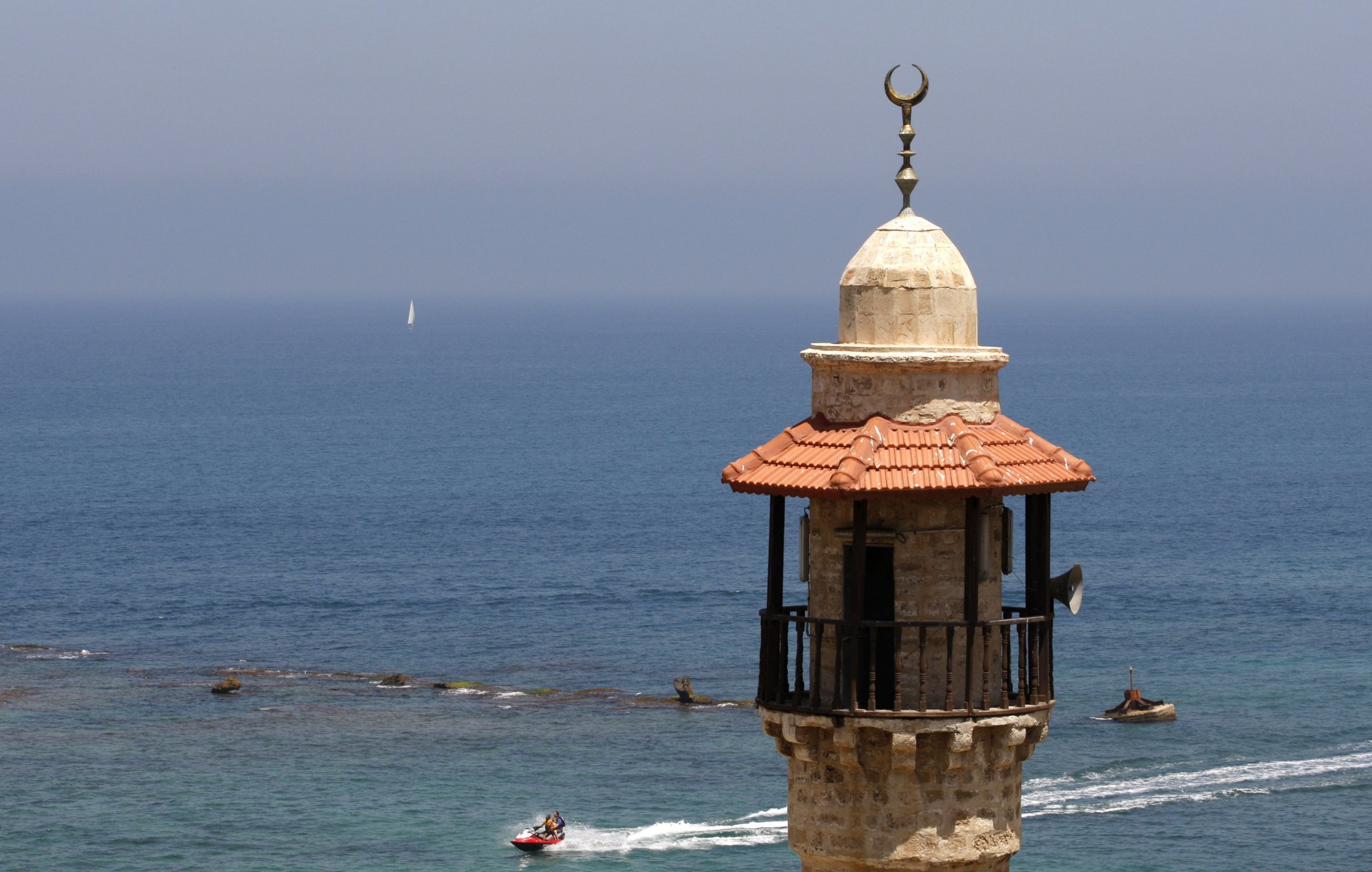 Israel Mosques Loudspeakers Middle East Muslims Islam