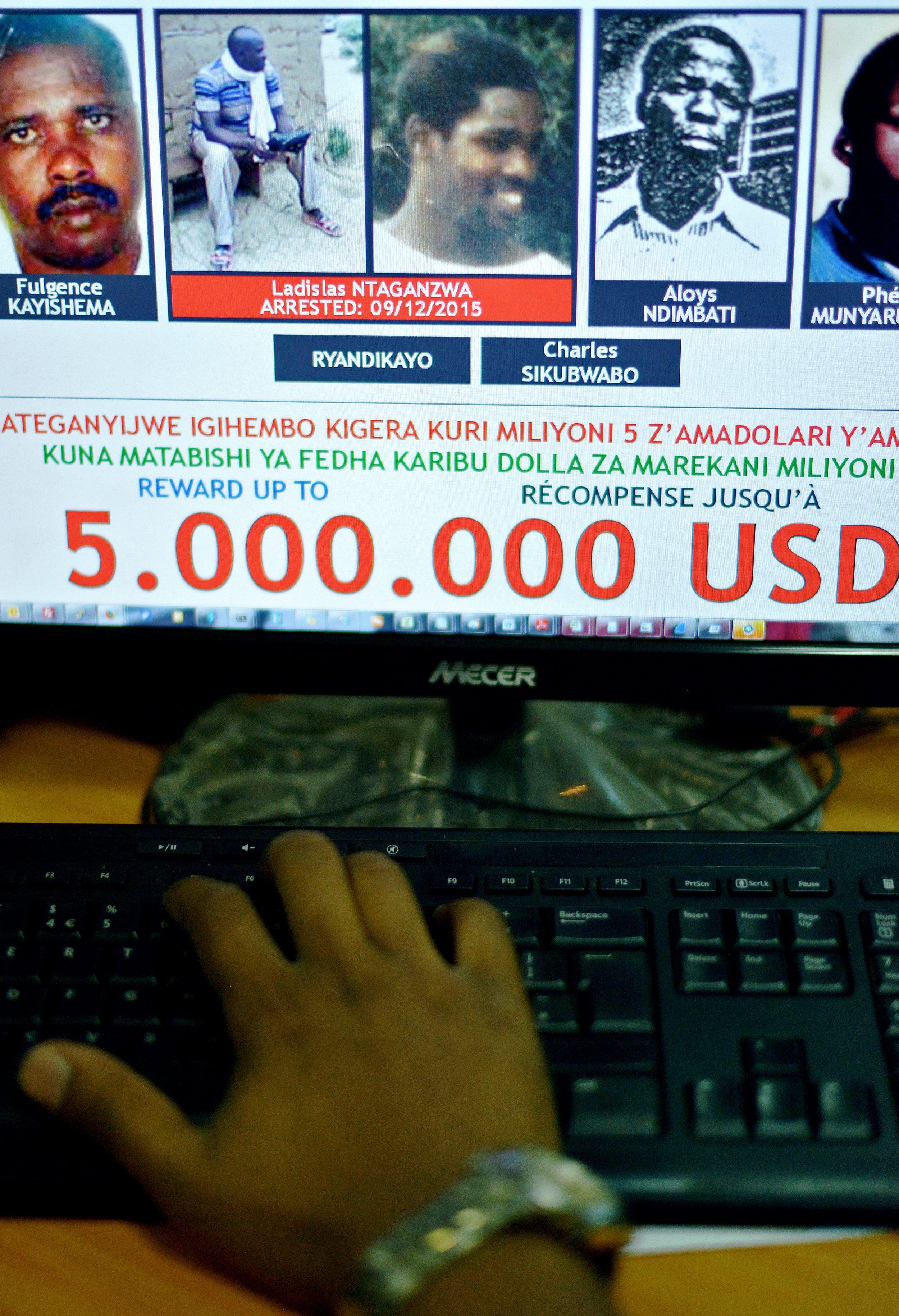 Ladislas Ntaganzwa is pictured on a U.N. website.