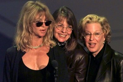 First Wives Club stars rehearse for Oscars