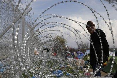 Macedonia Border
