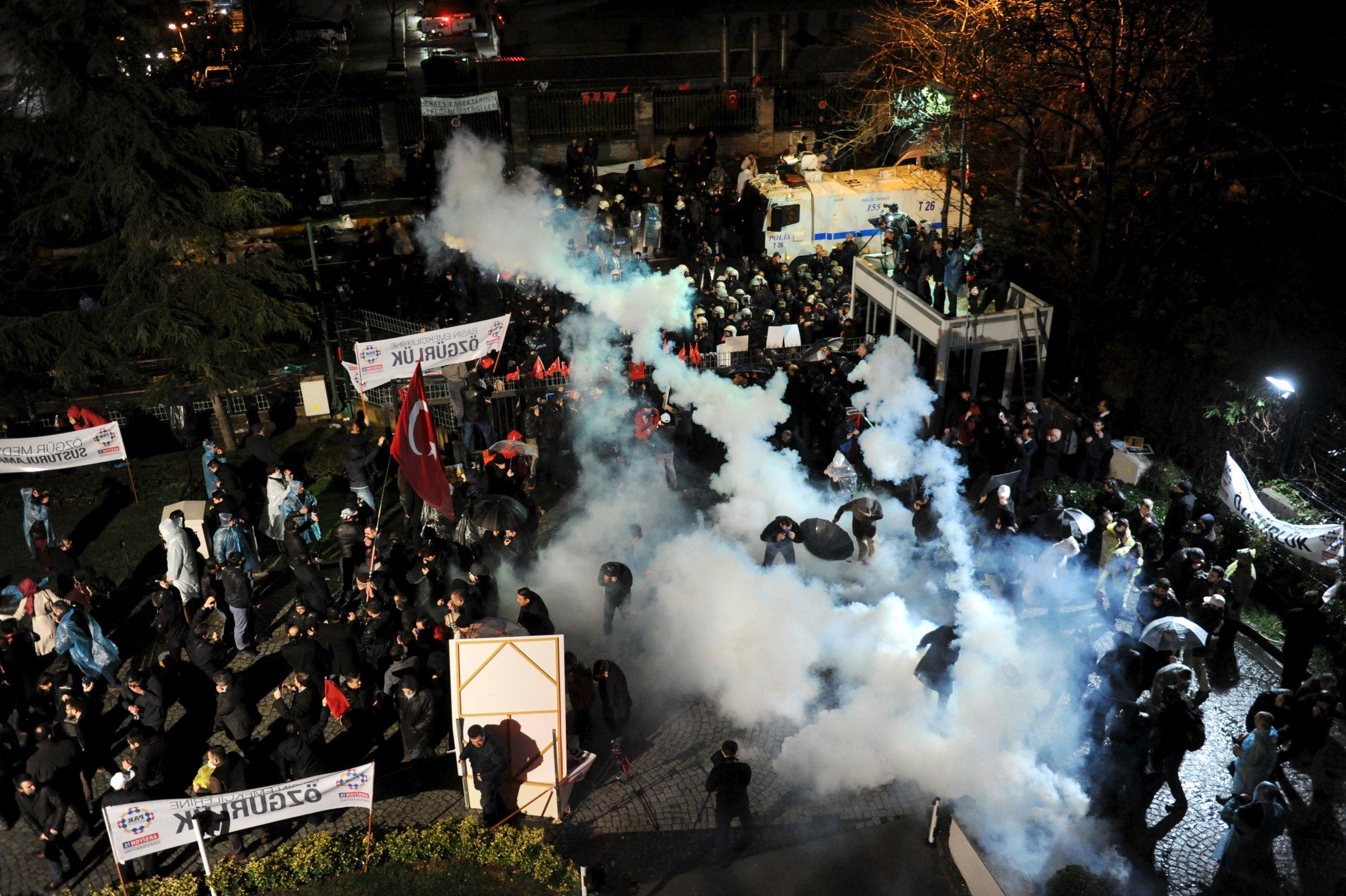 Erdogan Zaman Press Freedom Turkey
