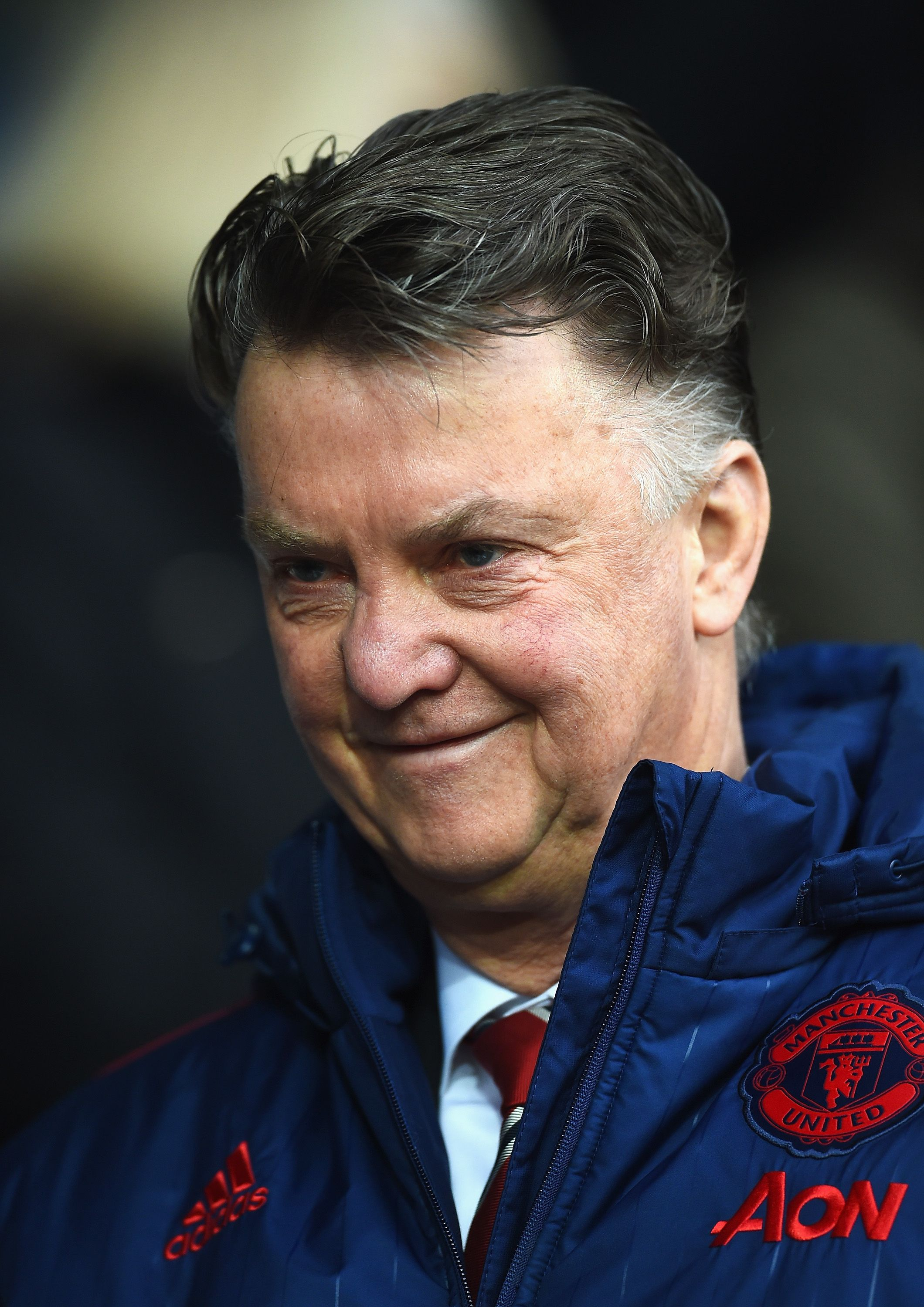 Louis Van Gaal believes Manchester United needs nine wins out of nine until the end of the season.