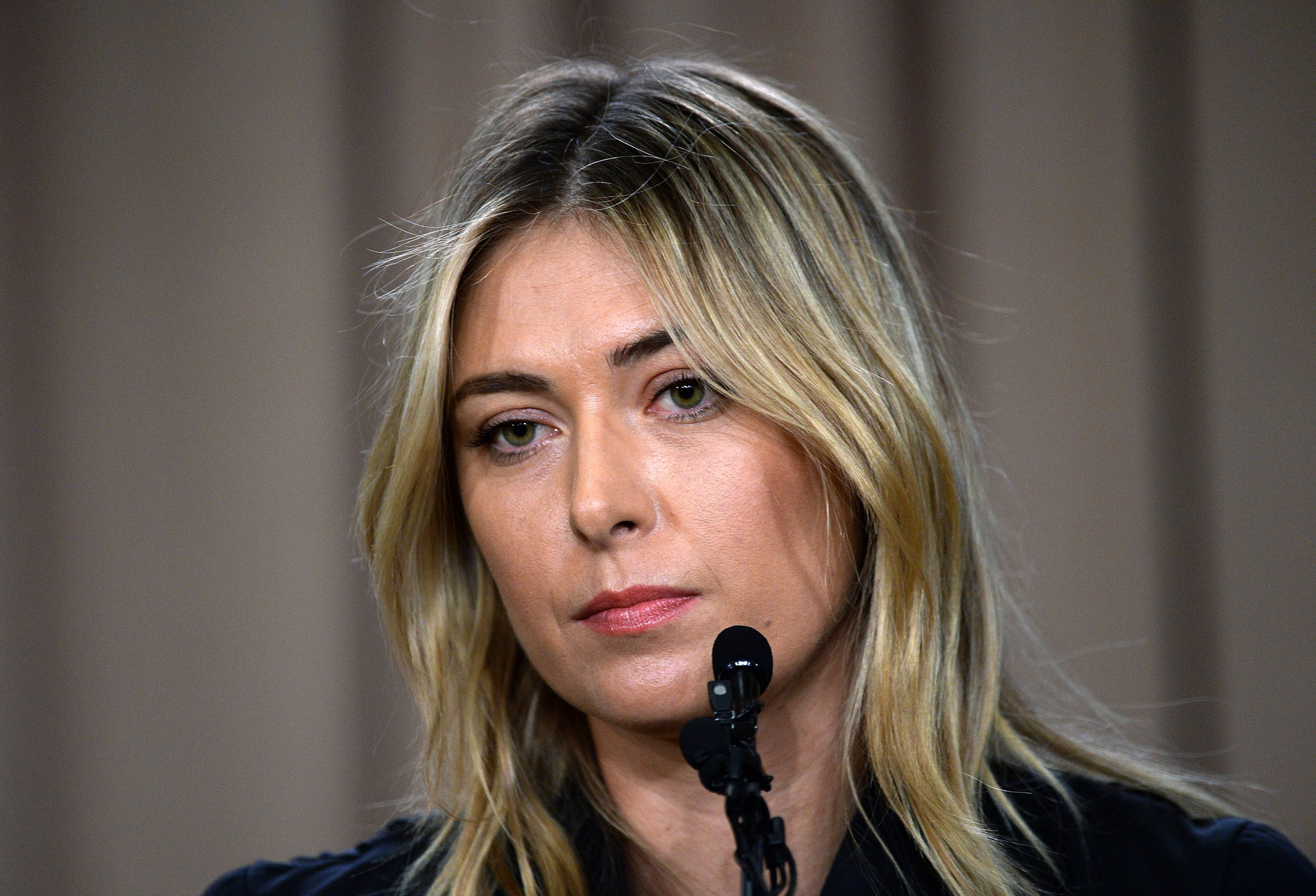 Maria Sharapova faces a lengthy ban from tennis.