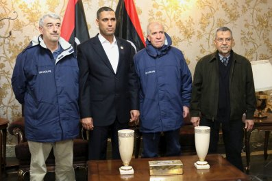 Libya Italy Hostage Middle East Africa ISIS